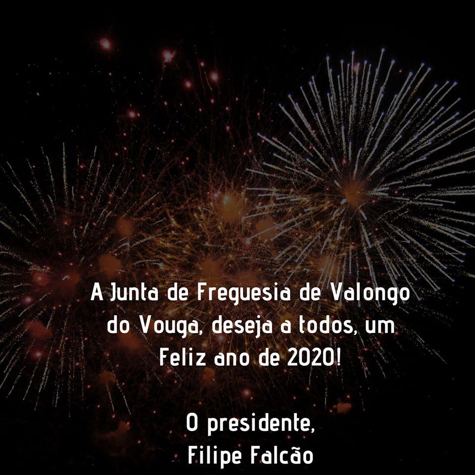Feliz Ano de 2020
