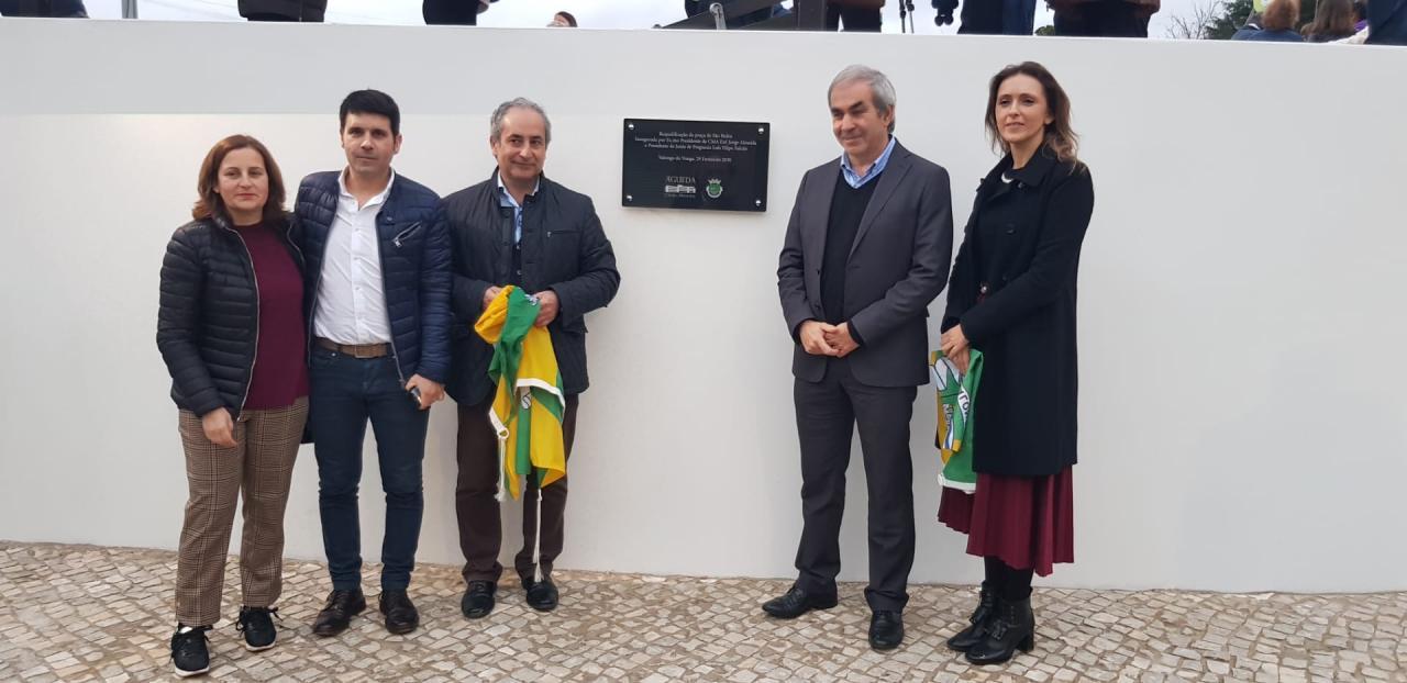 Inauguração da renovada praça de São Pedro em Valongo do Vouga