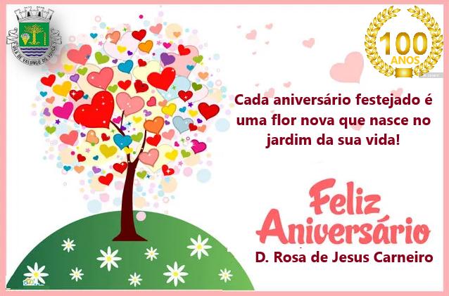 D. Rosa de Jesus Carneiro - 100 ANOS