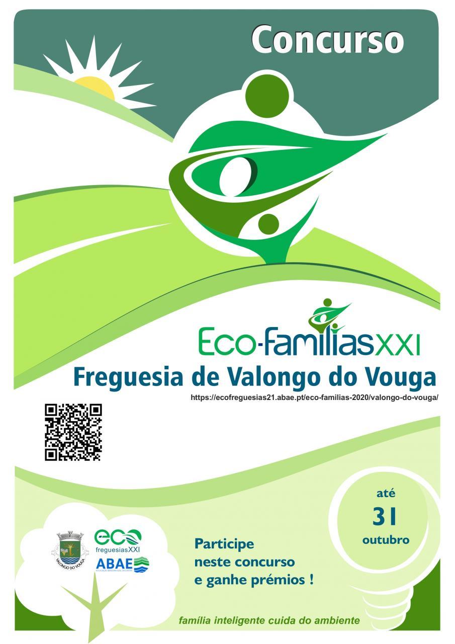 Concurso Eco-Famílias XXI | Freguesia de Valongo do Vouga | 2020