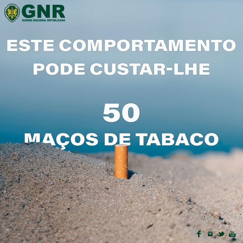 GNR - Alerta Guarda Nacional Republicana -   Tabaco