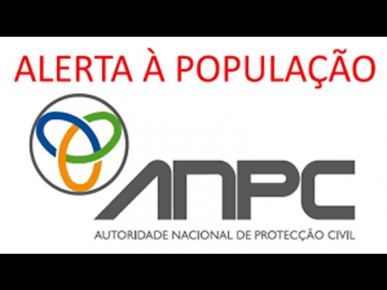 AVISO Á POPULAÇÃO - PERIGO DE INCÊNDIO RURAL
